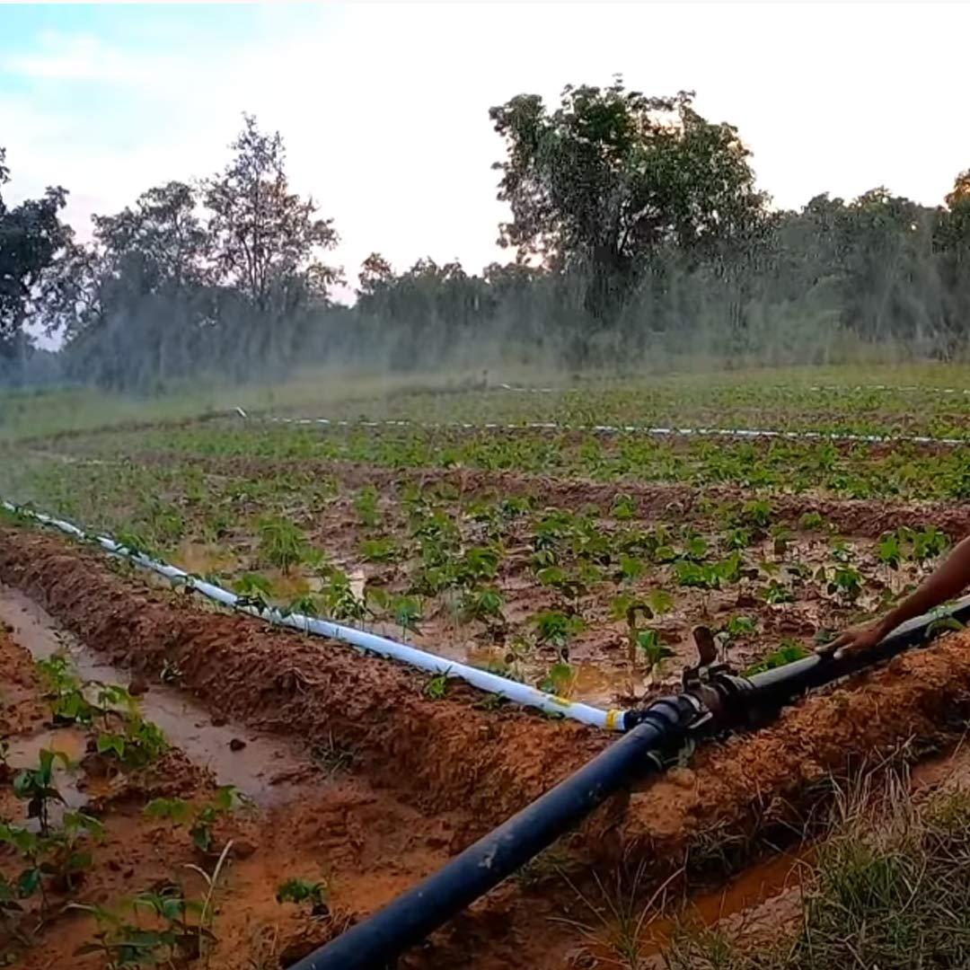 V.K. Rain Irrigation System Compatible with HDPE Sprinkler Quick Coupled - 19 MM