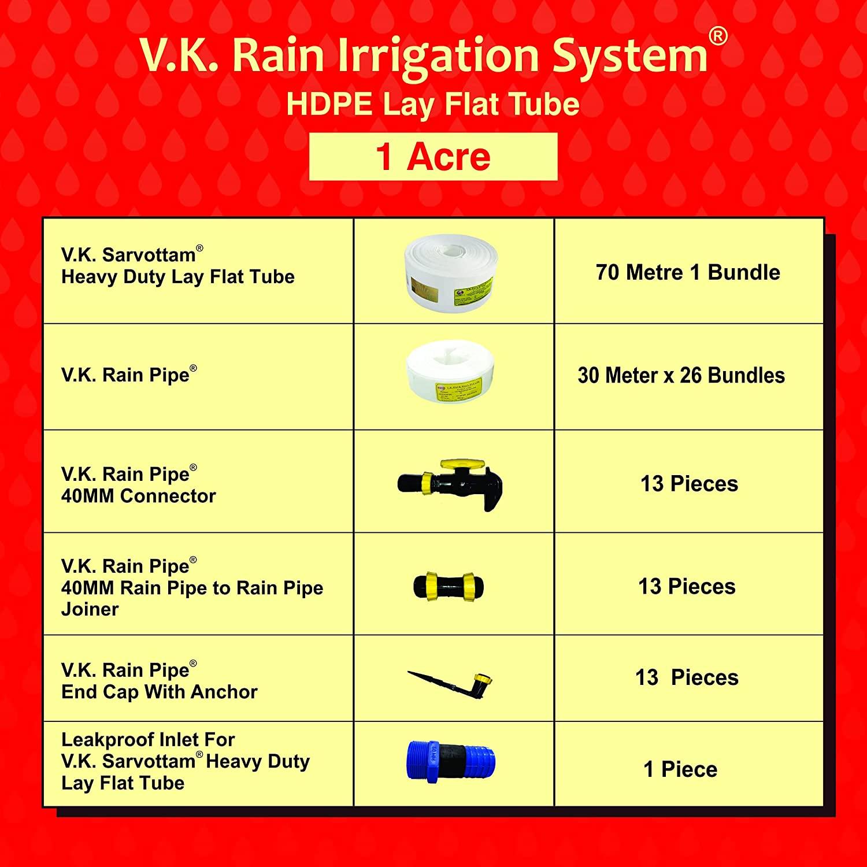 V.K. Rain Pipe Irrigation System