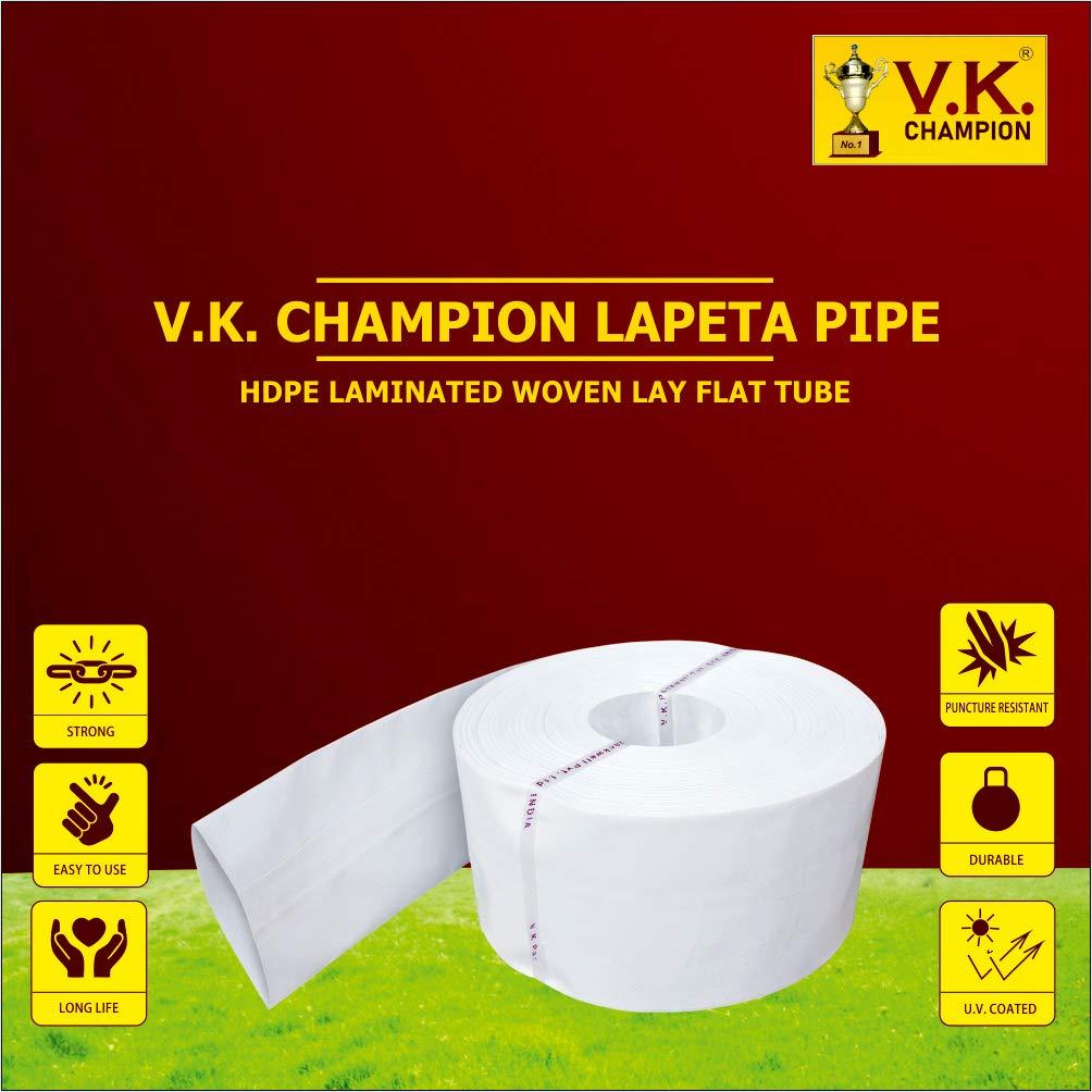 V.K. Champion HDPE Lapeta Pipe (60 Meter)