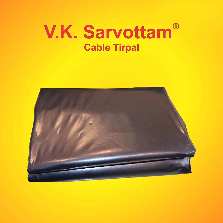 V.K. Sarvottam Eco-Friendly Waterproof Cable/Tarpaulin/Tirpal (120 GSM)