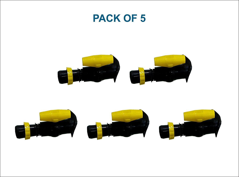 V.K.Rain Irrigation System Connector (Pack of 5)-40 MM