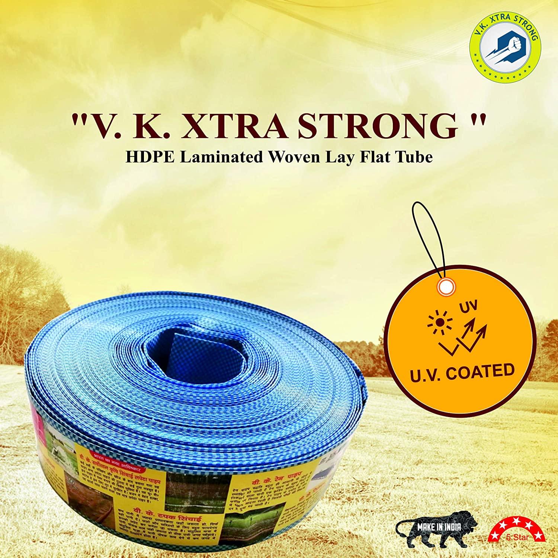 V.K. Xtra Strong HDPE Lapeta Pipe (60 Meter)
