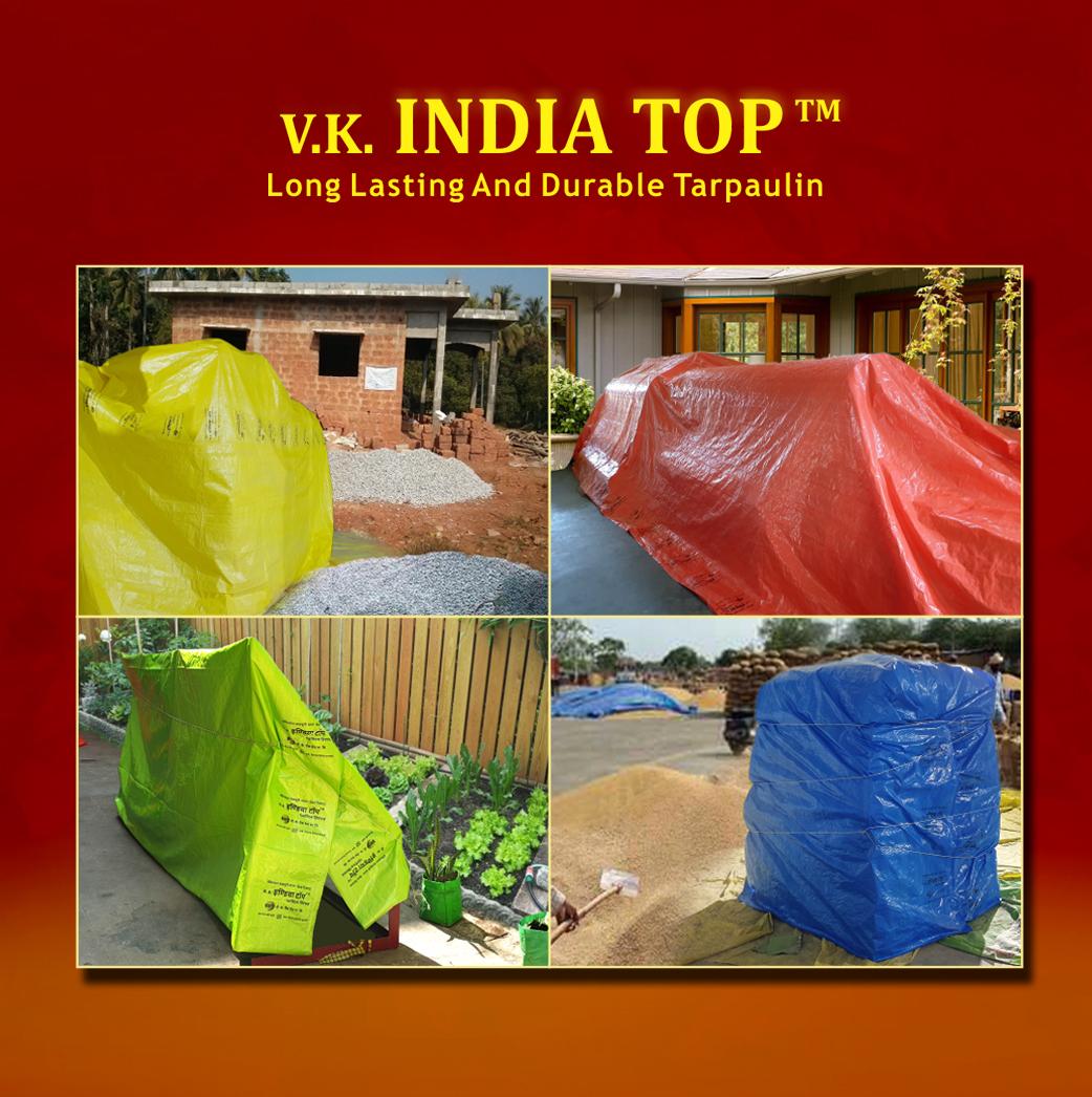 V.K. India Top HDPE Tarpaulin (Tirpal)